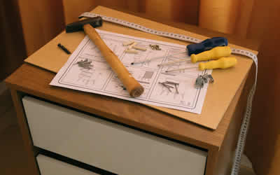 flat pack furniture assembly handyman Bolton